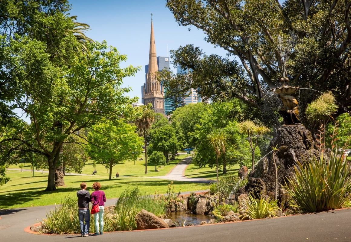 Fitzroy Gardens Stormwater Harvesting Case Study