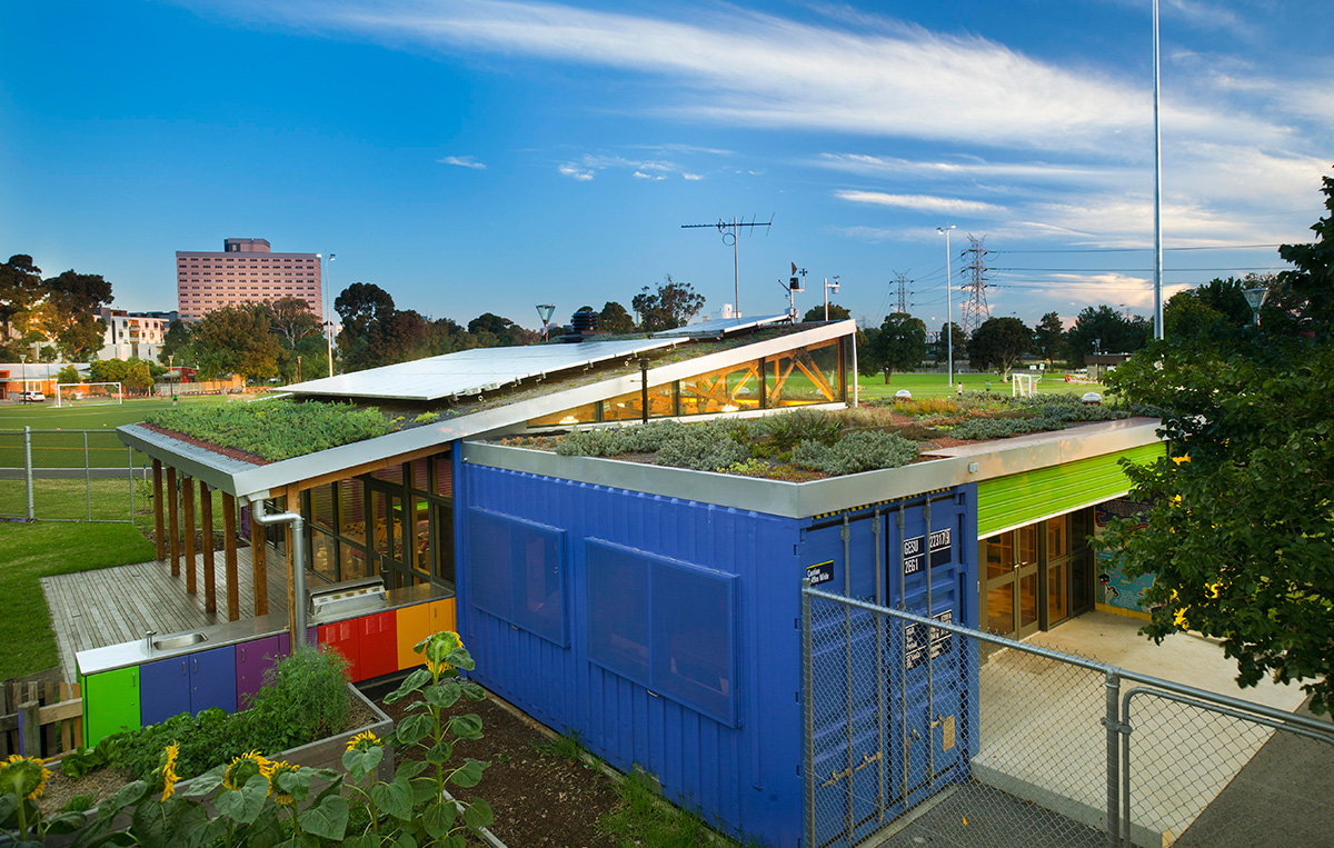 Green Roofs City Of Melbourne Urban Water