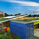 The Venny, a green roof on a Kensington play space for young people